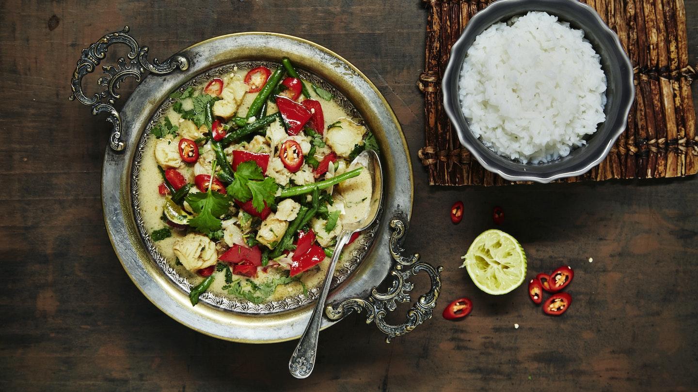 Thaicurry lipeäkalasta