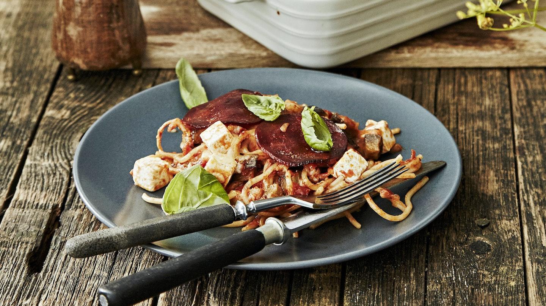 Munakoiso-spagettivuoka