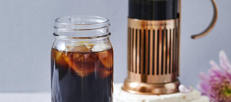 Cold Brew Coffee eli kylmäuutettu kahvi