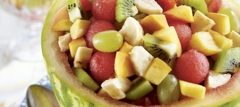 Täytetty meloni