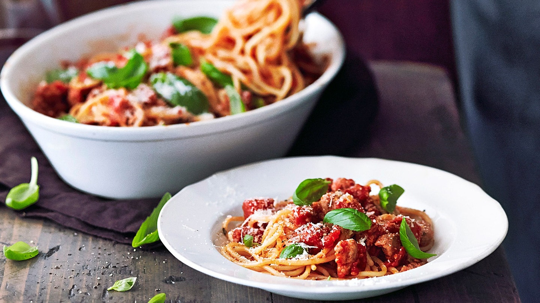 Moderni spagetti bolognese