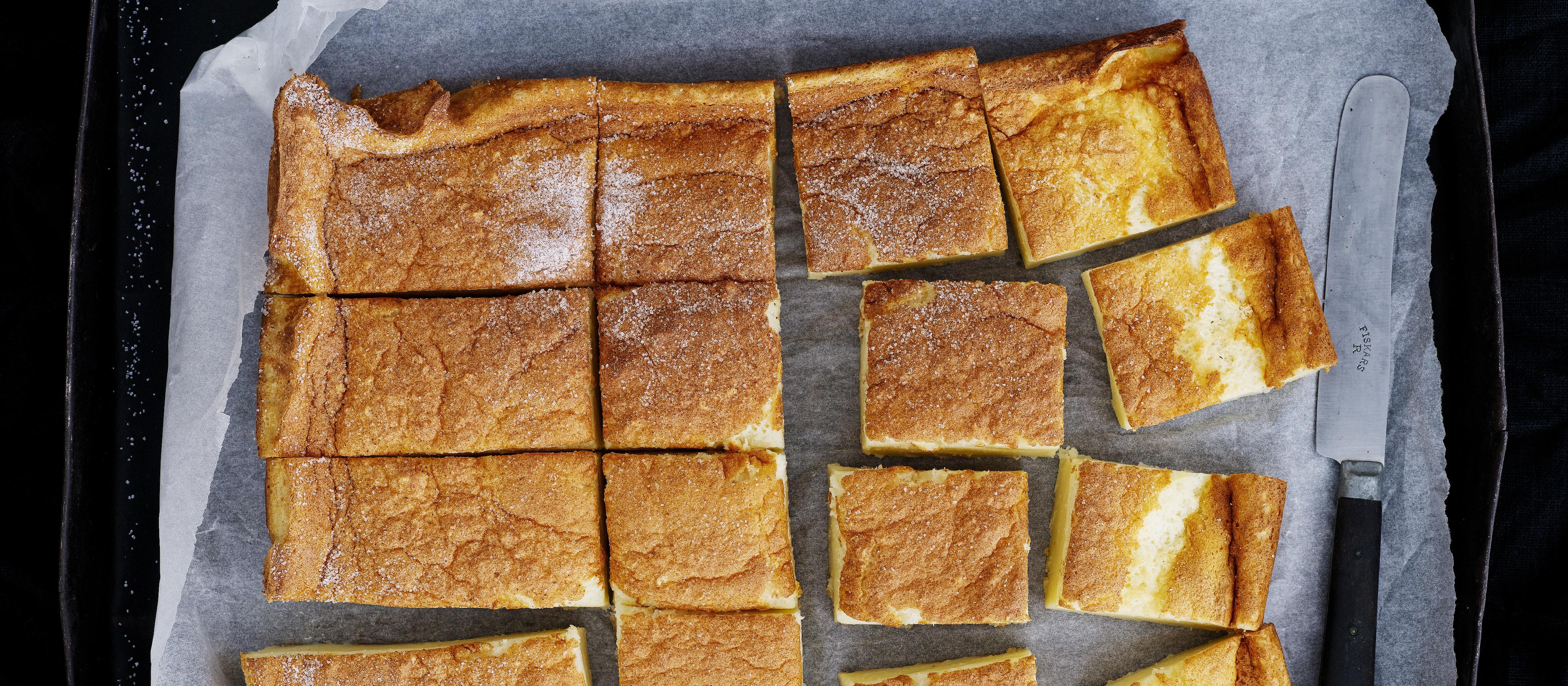 Kuuma tyttöjen leivotaan