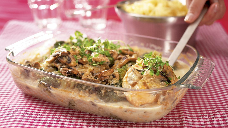 Broileri-parsakaalivuoka
