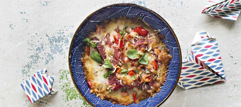 Pizzabowl eli pizzakulho