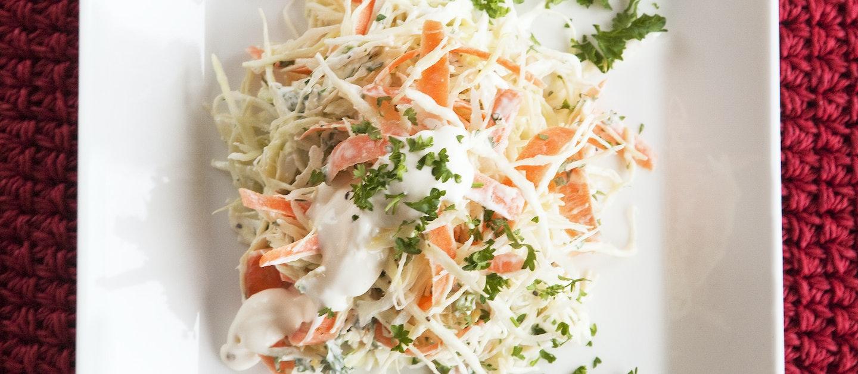 Coleslaw, kesäkaalisalaatti