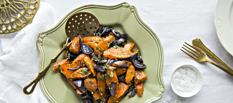Gremolata-porkkanat