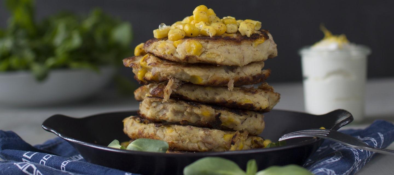 Tonnikala-maissipihvit