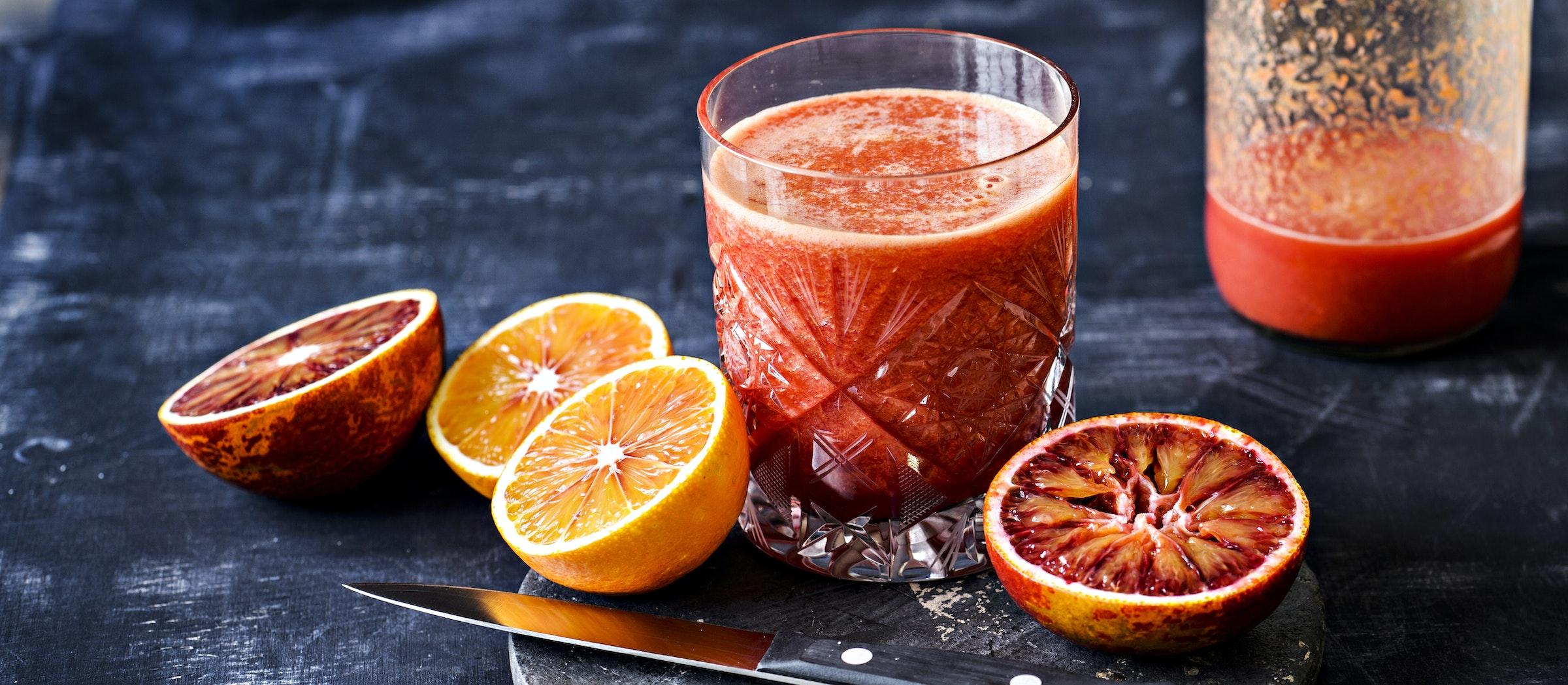Inkivääri-veriappelsiinimehu   Teema   Reseptit – K-Ruoka