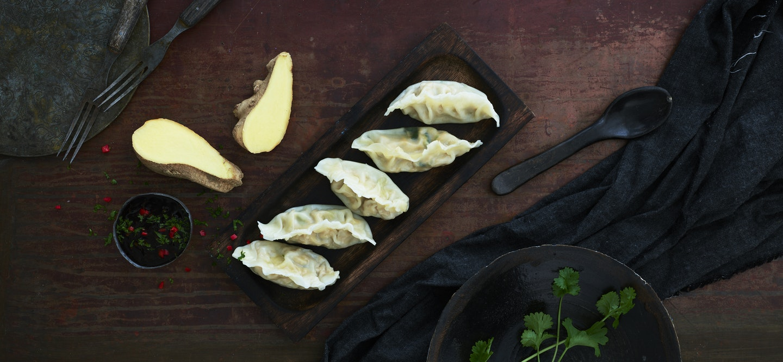 Dumplings, kanatäyte