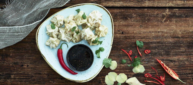 Dumplings, kasvistäyte