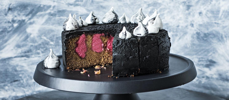 Halloween-kakku
