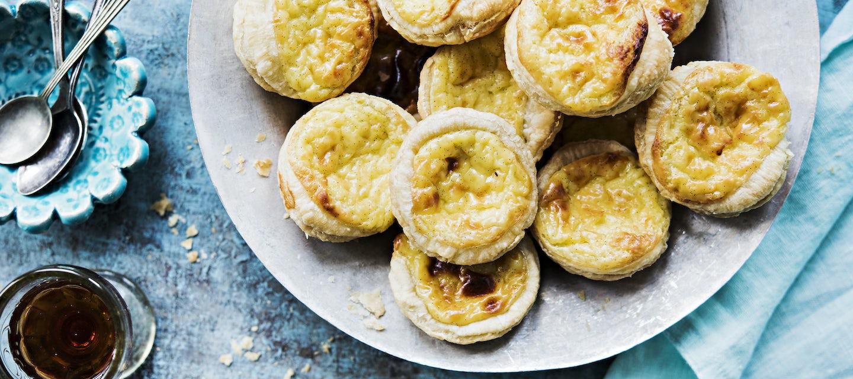 Pastéis de nata eli portugalilainen kermaleivos