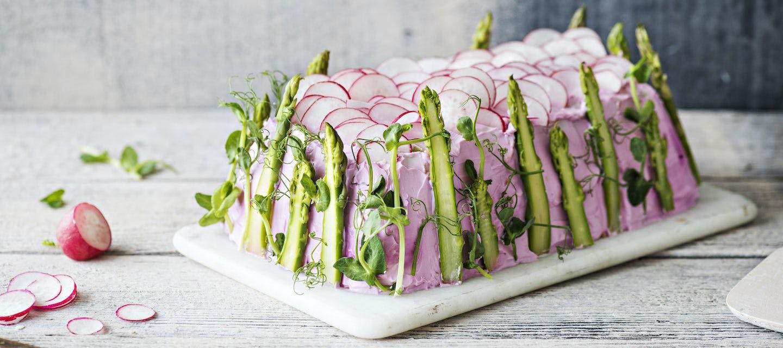 Vegaaninen voileipäkakku
