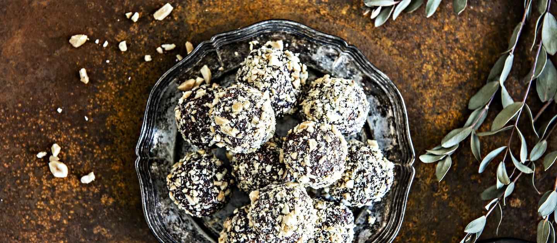 Suolapähkinä-suklaapallot