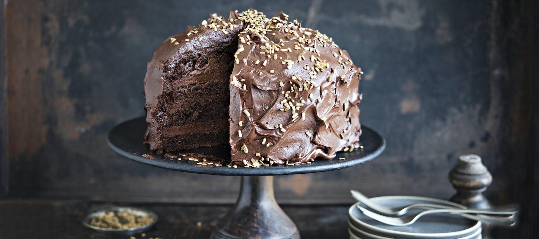 Kulta-suklaakakku