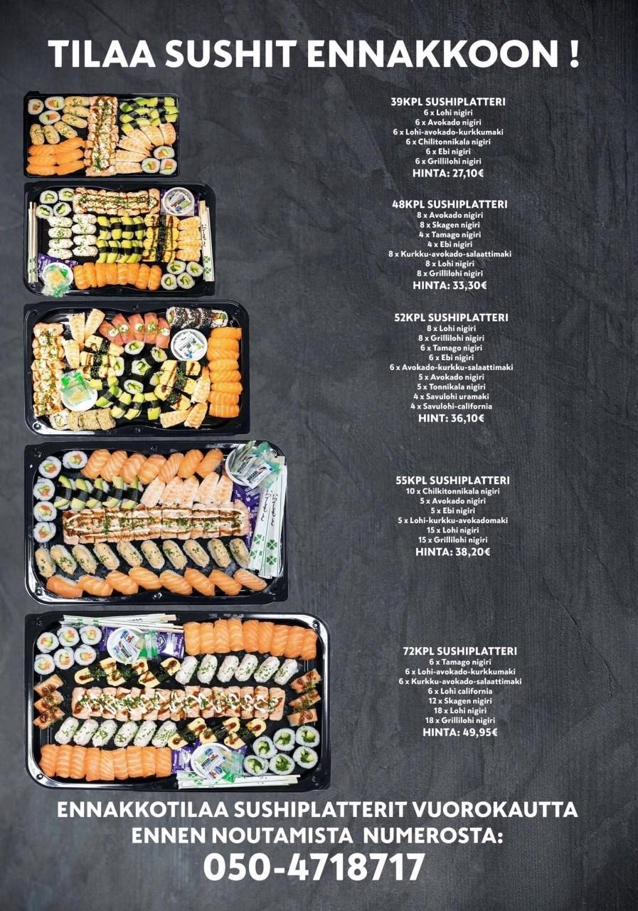 Pirkkala Citymarket Sushi