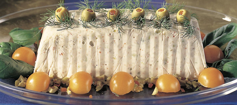 Vuohenjuusto-oliivihyytelö