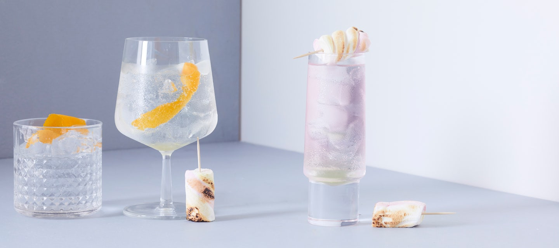 Alkoholiton gin tonic