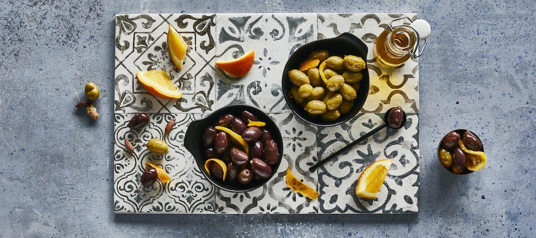 Appelsiiniset oliivit
