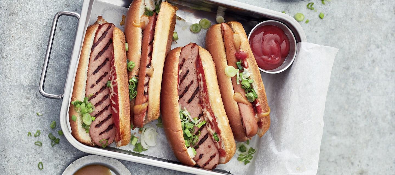 Makkara hot dogit