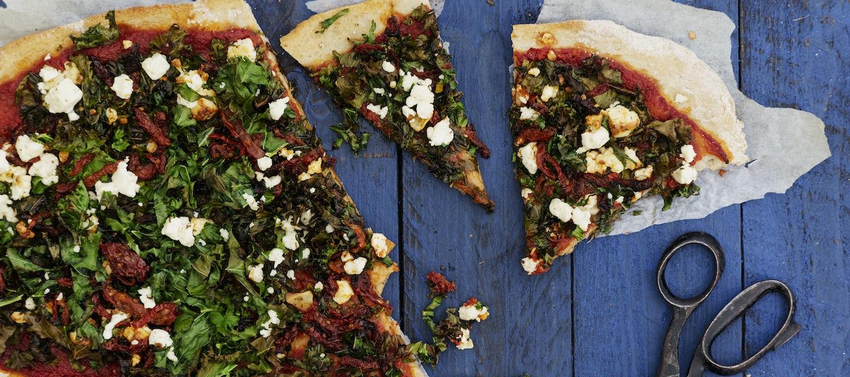 Lehtikaalipizza