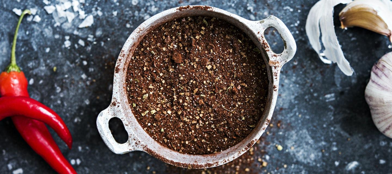 Suklainen rub-mausteseos