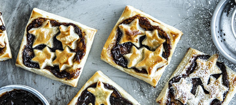 Pie crust joulutortut