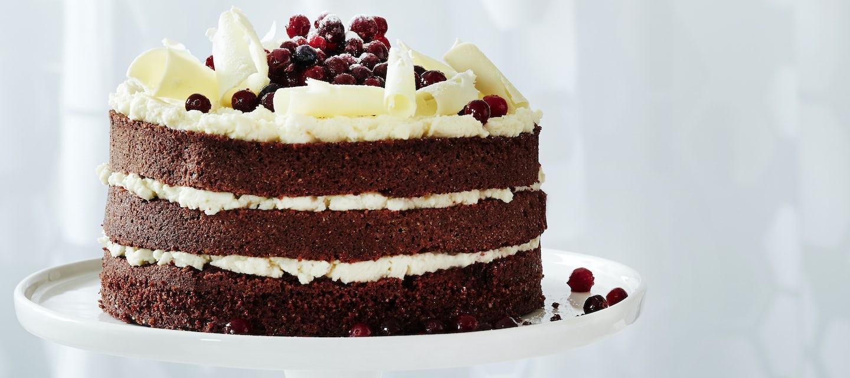 Red velvet kakku