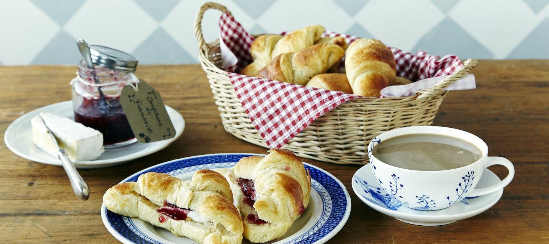 Croissantit eli ranskalaiset voisarvet