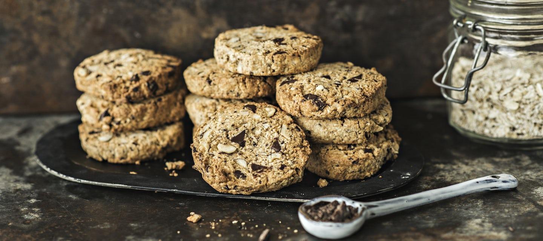 Gluteenittomat suklaa-pähkinäkeksit