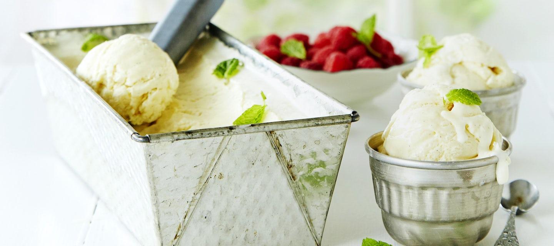 Itse tehty jäätelö