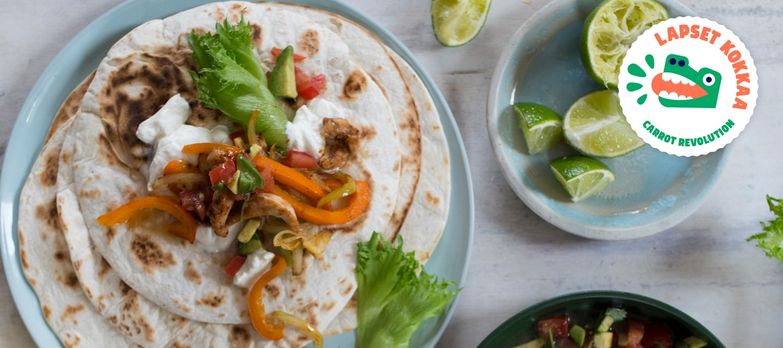 Meksikon muhkeat tortillat
