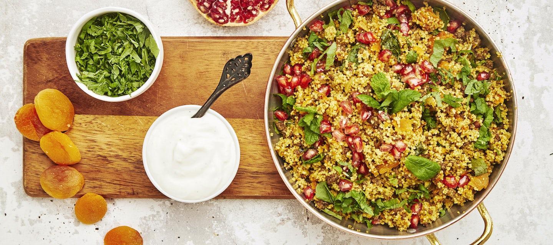Marokkolainen jauhelihapata