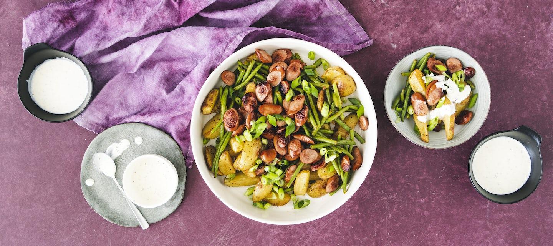 Nakki-perunasalaatti