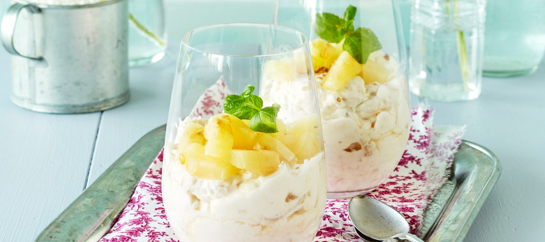 Kookos-ananasrahka