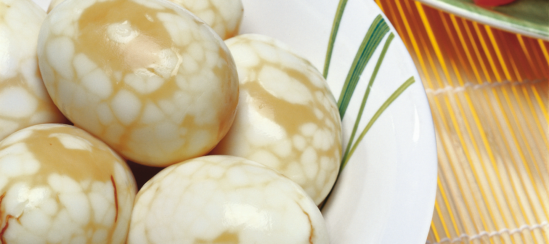 Marmoroidut kananmunat