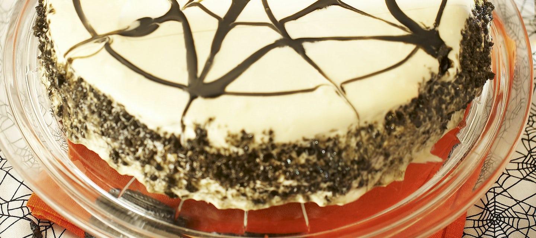 Hämähäkinverkko-kakku
