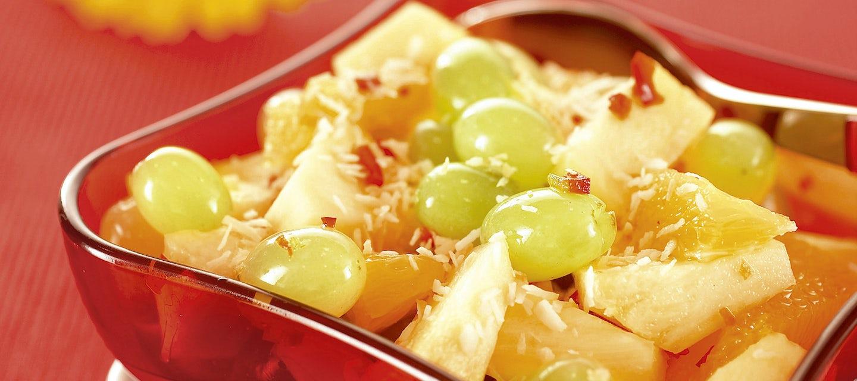 Ananas-hedelmäsalaatti