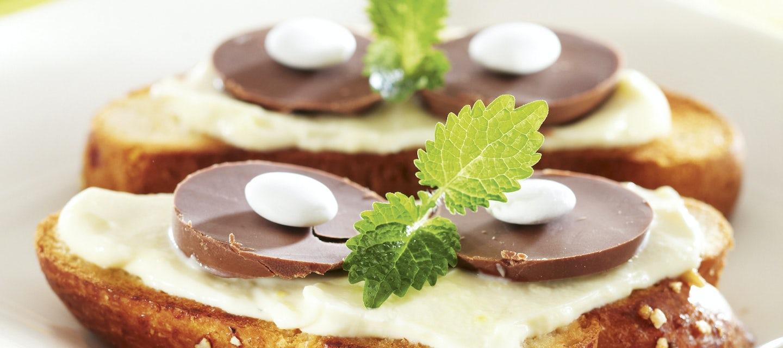 Pääsiäisen suklaamunapullat