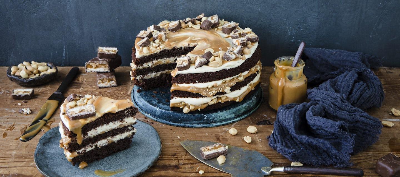 Snickers-kakku